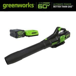 PRO 130 MPH 610 CFM 60V Battery Cordless Handheld Leaf Blower with 2.5 Ah Battery and Charger