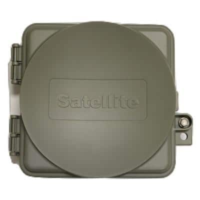 9 in. x 8 in. x 3 in. Satellite Cabling Enclosure Box