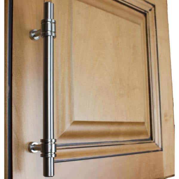 Gliderite 5 In Center To Center Solid Steel Barrel Ring Cabinet Bar Pull 10 Pack 4340 128 Sn 10 The Home Depot