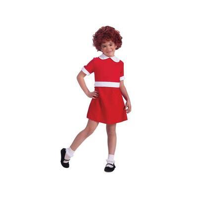 Small Girls Annie Kids Costume