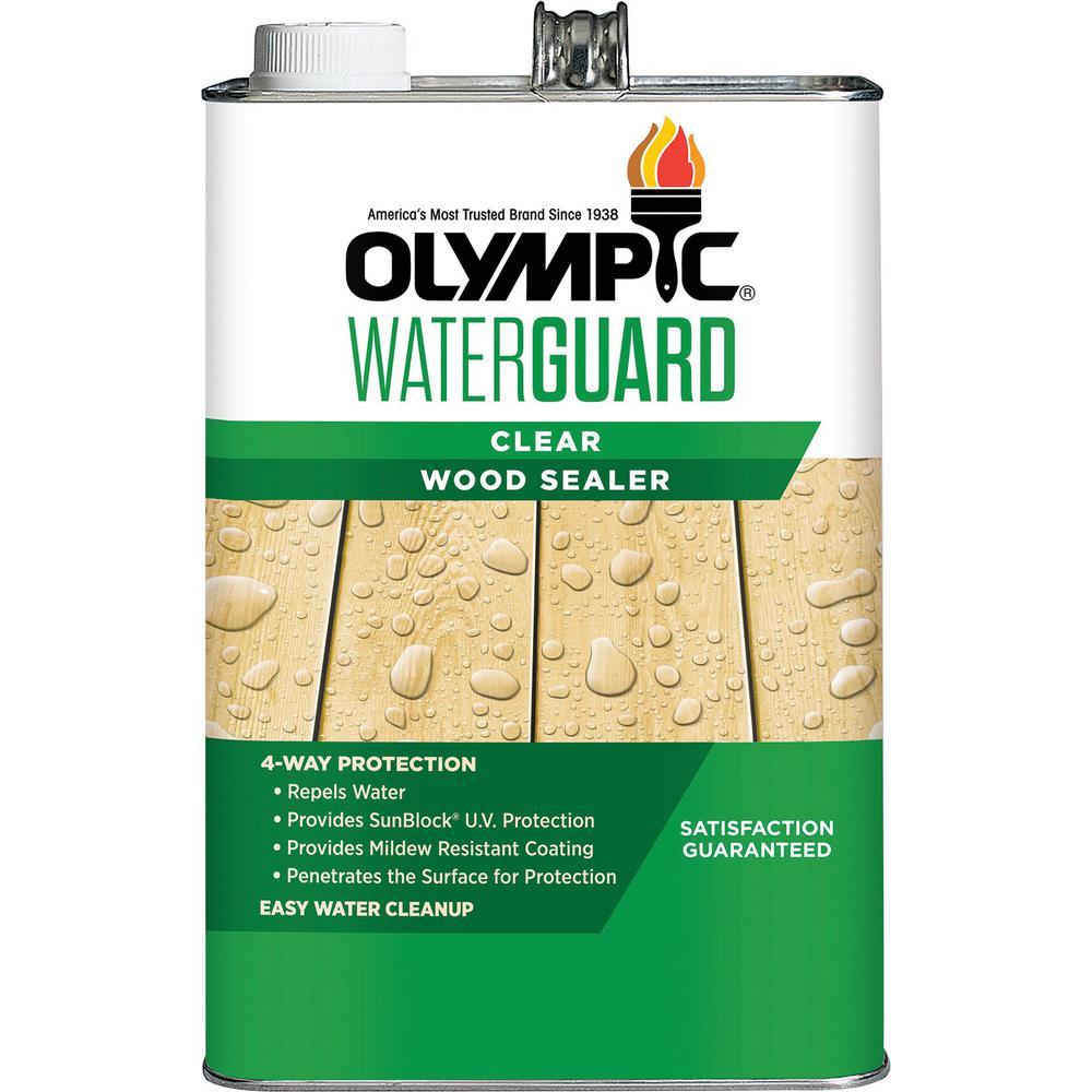 Waterguard 1 gal. Clear Wood Sealer