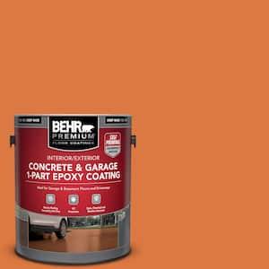 1 gal. #P210-7 Japanese Koi Self-Priming 1-Part Epoxy Satin Interior/Exterior Concrete and Garage Floor Paint