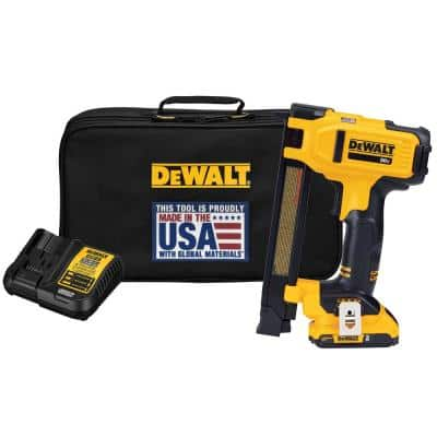 20-Volt MAX Lithium-Ion Cordless Cable Stapler with 2.0 Ah Battery, Charger and Bag