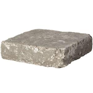 RumbleStone Square 7 in. x 7 in. x 1.75 in. Greystone Concrete Paver