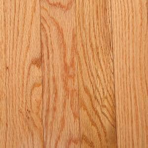 Laurel Natural Oak 3/4 in. Thick x 2-1/4 in. Wide x Varying Length Solid Hardwood Flooring (20 sq. ft. / case)