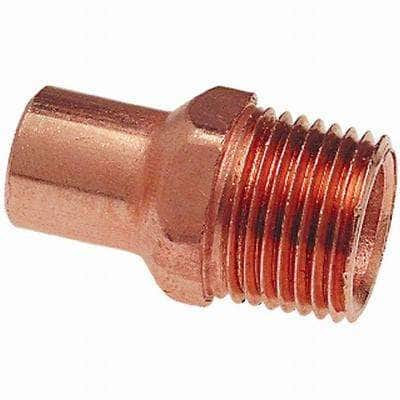 1/2 in. Copper Fitting x MIP Fitting Adapter