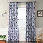 Palisade Blue Blackout Curtain - 50 in. W x 96 in. L
