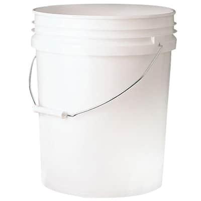 5 gal. Bucket in white