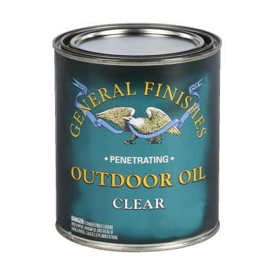 1 gal. Clear Outdoor Wood Oil