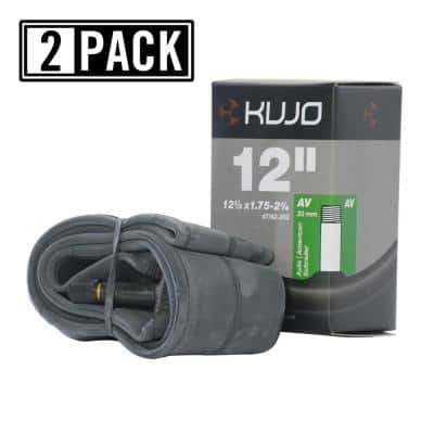 12-1/2 in. x 2.125 in. Schrader (American) 35 mm Bicycle Tube (2-Pack)