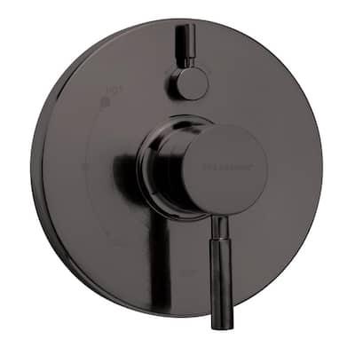 Neo 1-Handle Valve Trim Kit in Matte Black (Valve Not Included)