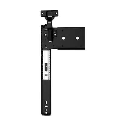 8080 Series 16 in. Ebony Black Pocket Door Slide 1-Pair (2 Pieces)