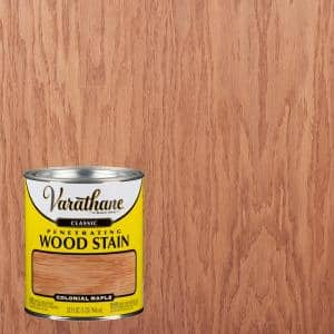 1 qt. Colonial Maple Classic Wood Interior Stain (2-Pack)