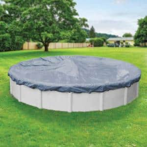 Classic 18 ft. Round Azure Blue Winter Pool Cover