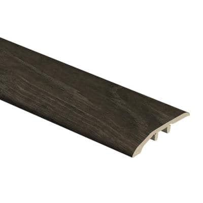 Choice Oak/Black Willow 1/3 in. Thick x 1-13/16 in. Wide x 72 in. Length Vinyl Multi-Purpose Reducer Molding