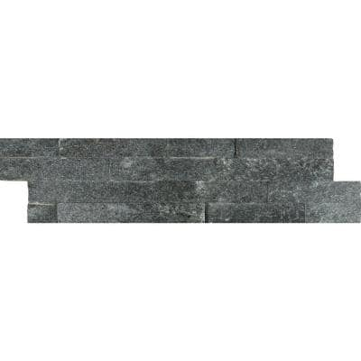 Coal Canyon Ledger Panel 6 in. x 24 in. Natural Quartzite Wall Tile (6 sq. ft./Case)