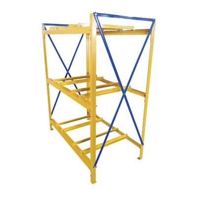 2 Wide 3 High Drum Storage Rack