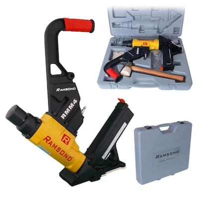 2-in-1 Air Hardwood Flooring Cleat Nailer and Stapler Gun
