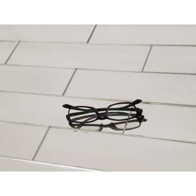 Reflections Silver Subway 3 in. x 12 in. Glass Mirror Wall Tile (14 sq.ft./box)