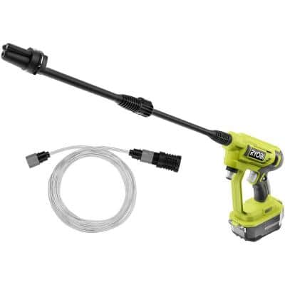 EZClean ONE+ 18-Volt 320 PSI 0.8 GPM Cold Water Cordless Power Cleaner (Tool Only)