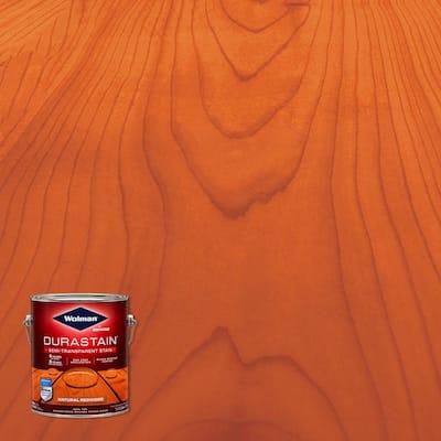 1 gal. Durastain Redwood Exterior Wood Semi-Transparent Stain (4-Pack)