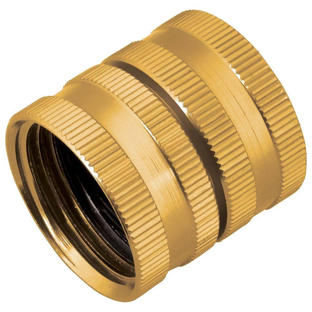 """Garden Hose Pipe Male Adapter Fitting Connector Connect 2 Hoses 1//2/""""  2 way"""
