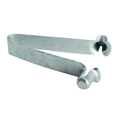 6.25 in. x 5.5 in. x 5.25 in. Galvanized Steel Spring Clip/Lock for Coupling Pin on Mason and Walk-Through Scaffolding