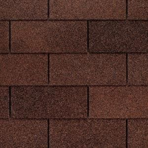 Marquis WeatherMax Autumn Brown 3-Tab Roofing Shingles (33.3 sq. ft. per Bundle) (26-pieces)