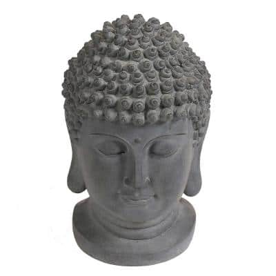 Buddha Head Garden Statue