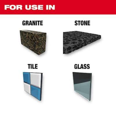 Carbide Natural Stone Bit Set (4-Pack)