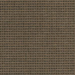 First Impressions Tattersall Chestnut w/ Blk 24 in. x 24 in. Commercial Peel and Stick Carpet Tile (15-tile / case)