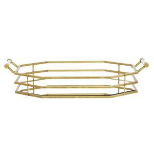 Gold Metal Glam Tray
