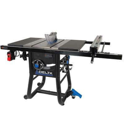 5000 Series, 10 in. Table Saw with 36 in. Rip Capacity and Cast Extension Wings