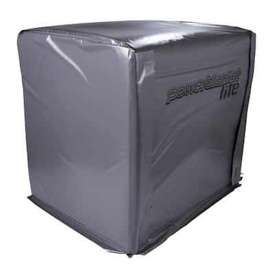 "Insulated Bulk Material Warmer, Pallet Heater, Portable Job Site Heater, Fixed Temp 100°F, Heated Area 40"" x 48"" x 48"""