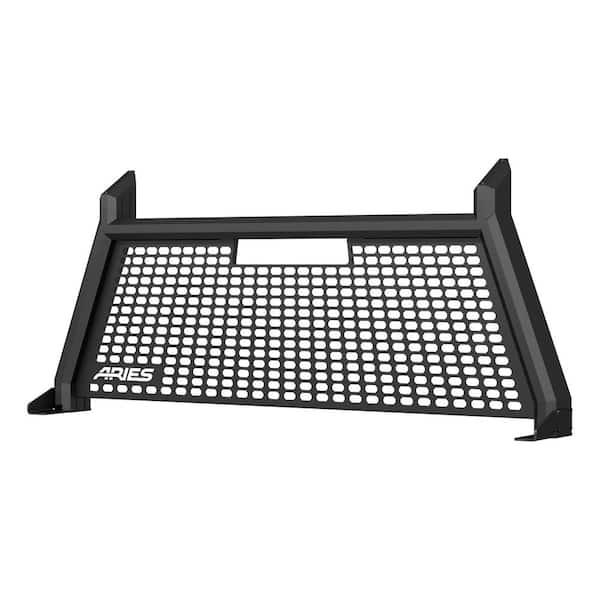 ARIES 1110109 Switchback Black Aluminum Truck Headache Rack Cab Protector GMC Canyon Select Chevrolet Colorado