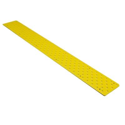 3.75 in. x 48 in. Yellow Non-Slip Tread