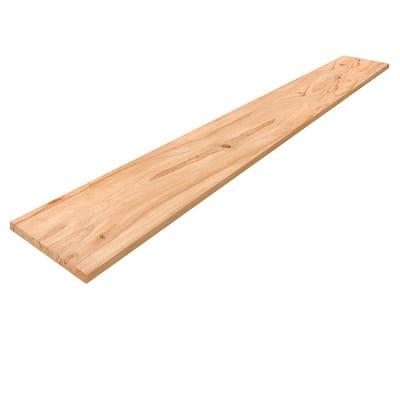 1 in. x 8 in. x 8 ft. Rustic Beech Board