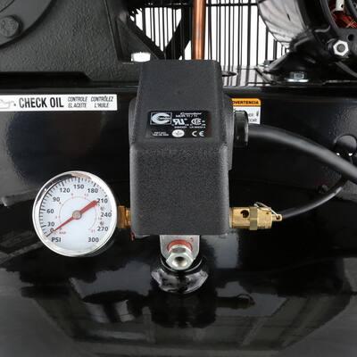 80 Gal. 5 HP 2-Stage Air Compressor