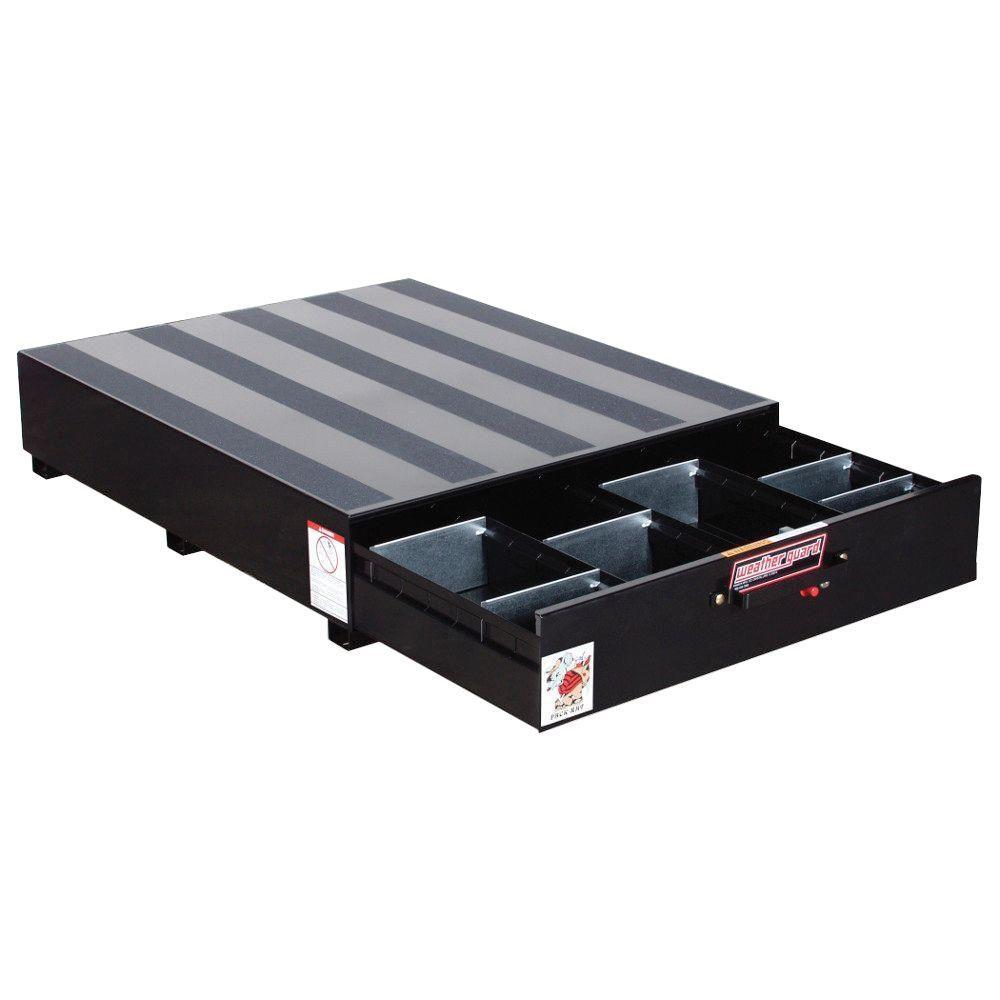 Steel Pack Rat Drawer Unit in Black