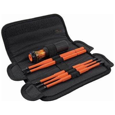 8-in-1 Insulated Interchangeable Screwdriver Set