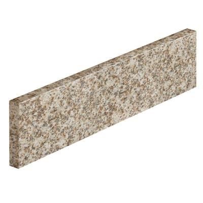 18 in. Granite Sidesplash in Golden Hill