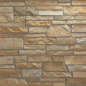 Pacific Ledge Stone Cascade Flats 10 sq. ft. Handy Pack Manufactured Stone