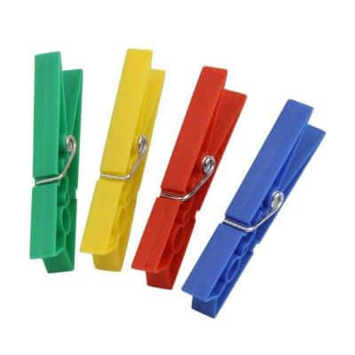 Plastic Clothespins (200-Pack)