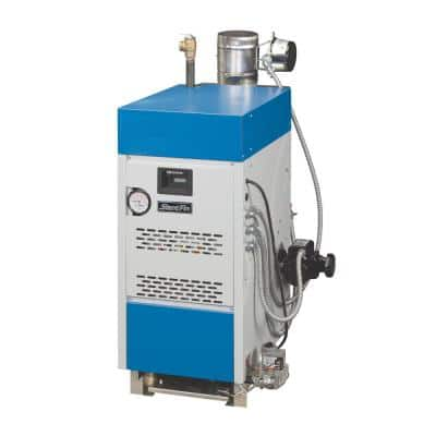 Sentry Natural Gas Water Boiler with 34,000 BTU Input 25,000 Output Intermittent Electronic Ignition