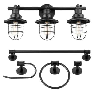 Lantern Vanity Lighting Lighting The Home Depot