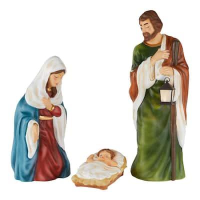 36 in. LED Pre-Lit Nativity Set