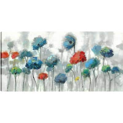 The Flowers, Floral Art, Printed Canvas Wall Art Decor Gallery Wrapped Wall Art