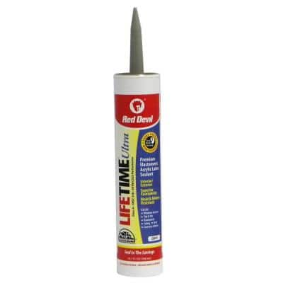 Ultra 10.1 oz. Gray Acrylic Latex Caulk
