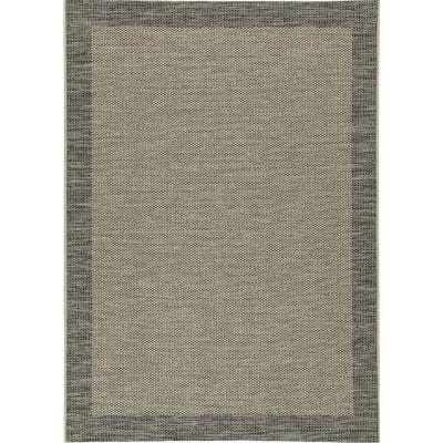 Lansing Black 5 ft. x 7 ft. Area Rug