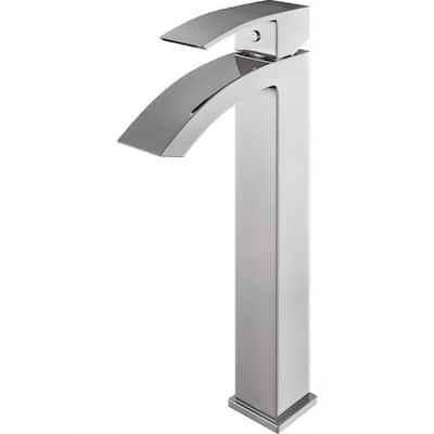 Duris Single-Handle Vessel Sink Faucet in Chrome